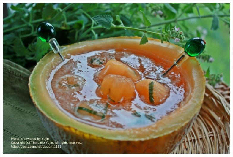 멜론 한덩이로 여름완소 음료 만들기
