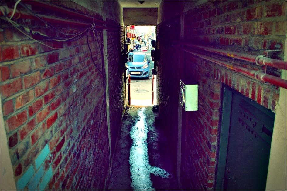 좁은 골목