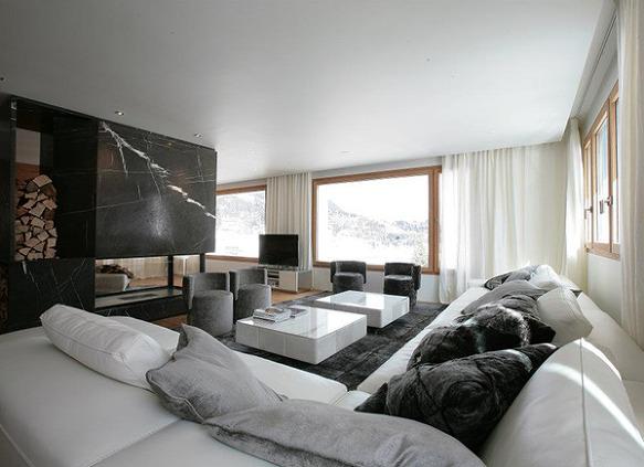 원목으로 리모델링한 뉴욕 모던 아파트 인테리어/ 디자인가구 ...