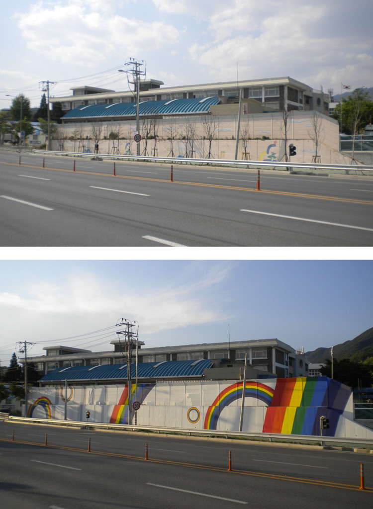 공공 벽화 디자인 및 제안서 작업