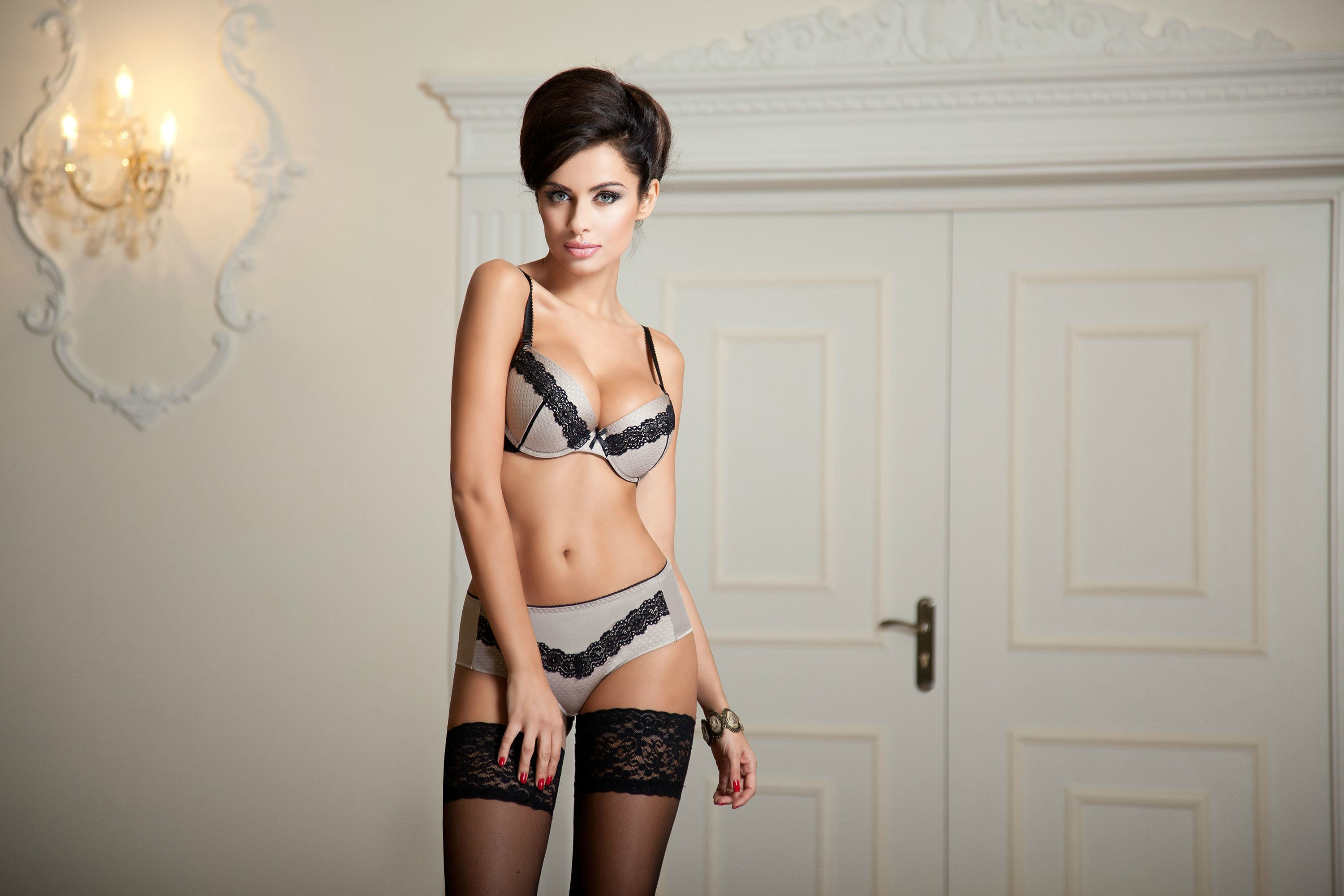 cool lingerie model - Natalia Siwiec