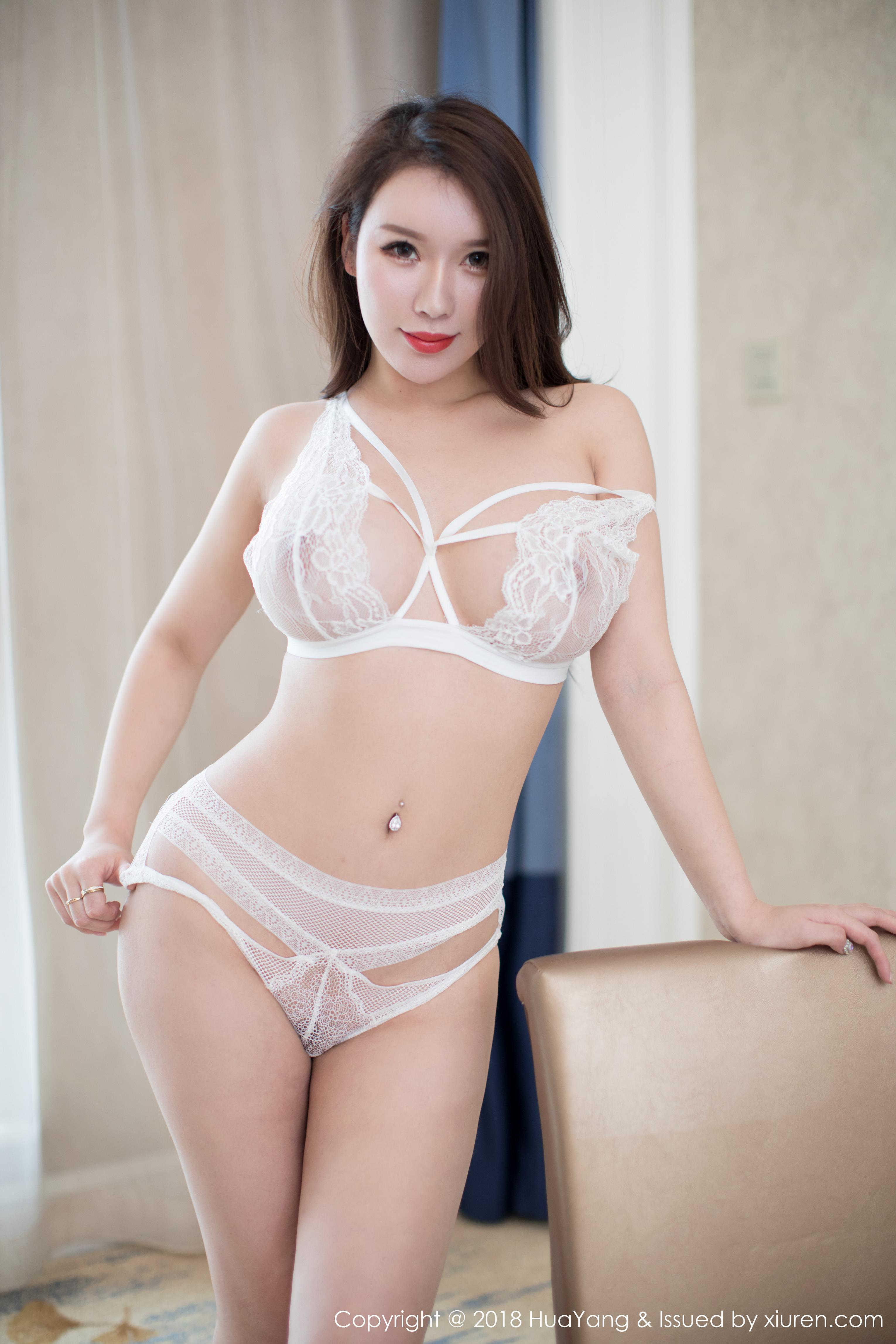 hot Chinese glamour in lingerie